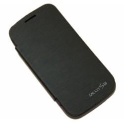 Чехол-книга с аккумулятором для Samsung i9300 Galaxy S3 /3200mAh/черный/