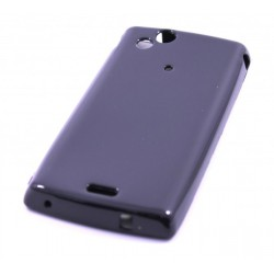 "Чехол силиконовый ""BLACK PEARL"" для смартфона Sony Ericsson Xperia X12 Arc"