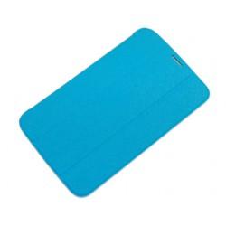 "Чехол для Samsung Galaxy Tab3 T2100 ""SmartBook"" /голубой/"