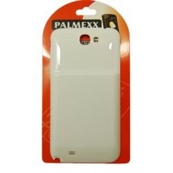 Аккумулятор повышенной емкости для Samsung N7100 Galaxy Note2 /6400mAh/белый/