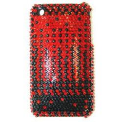 Прозрачный чехол со стразами №3 Apple iPhone 3G / 3GS
