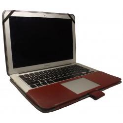 """Чехол PALMEXX Книга для MacBook Air 11.6"""" /коричневый/"""