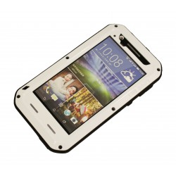 """Чехол PALMEXX для HTC Desire 820 """"LUNATIK/LOVE MEI"""" /белый/"""