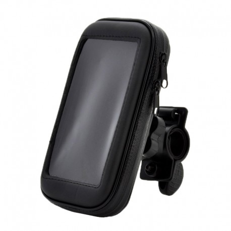 Держатель на руль велосипеда с защитным чехлом для смартфона /размер M/