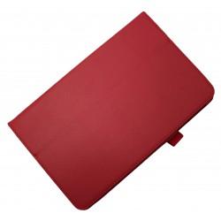 "Чехол PALMEXX для Samsung Galaxy Tab E 9.6 SM-T561N ""SMARTSLIM"" кожзам /красный/"