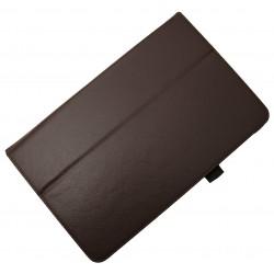 "Чехол PALMEXX для Samsung Galaxy Tab E 9.6 SM-T561N ""SMARTSLIM"" кожзам /коричневый/"
