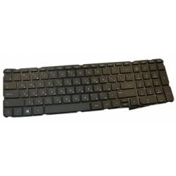 Клавиатура для ноутбука HP SleekBook 15 /черная/