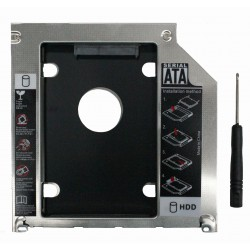 Optibay 9.5mm SATA (Second HDD Caddy) / -mSATA (Macbook)