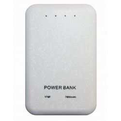 Портативный внешний аккумулятор PALMEXX /7800mAh/ (белый)