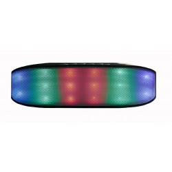 Bluetooth колонки с радио и mp3-проигрывателем NewRixing NR-2014 / черный