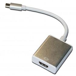 Кабель PALMEXX UsbC-HDMI / золото