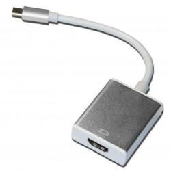 Кабель PALMEXX UsbC-HDMI / серебро