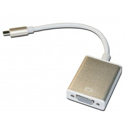 Кабель PALMEXX UsbC-VGA / золото
