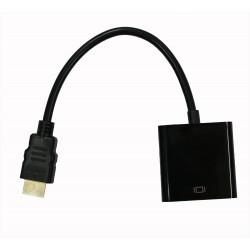 Кабель PALMEXX HDMI - VGA черный