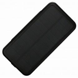 Чехол-аккумулятор с солнечной панелью для iPhone 6/7 /черный/