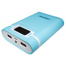 Портативный внешний аккумулятор PALMEXX /10000mAh/ (голубой)