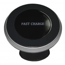 Автомобильный держатель PALMEXX с беспроводным QI зарядным устройством Fast Charge
