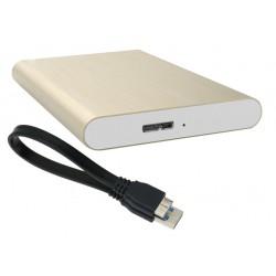"""Внешний корпус для жесткого диска PALMEXX PXB-6T 2.5"""" USB3.0 /золото/"""