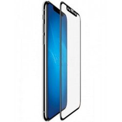 Защитное стекло противоударное PALMEXX для iPhone X/XS 99D чёрное