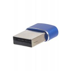 Переходник PALMEXX USB Type C - USB / синий