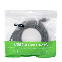 Кабель PALMEXX USB-C to USB3.2 для Oculus Quest Link USB3.2GEN1 5Gbps 5M