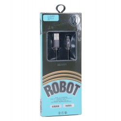 Кабель PALMEXX ROBOT Y21 microUSB 2.4A 1m