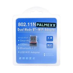 Адаптер PALMEXX USB WiFi 802.11n + BT4.0