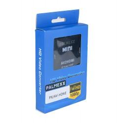 Переходник PALMEXX AV - HDMI /чёрный