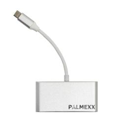 ??? PALMEXX USB-C to 3*USB3.0+USBC