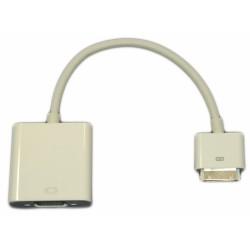 Переходник с Apple iPhone 3, 4 / iPad 2,3 - VGA