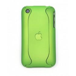 Чехол для iPhone 3G жесткий чехол-корпус салатовый