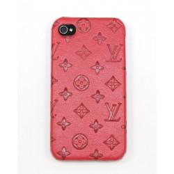 Чехол для iPhone 4G LV красный