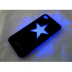 Чехол для iPhone 4G - светомузыка, работающий от звонка Star