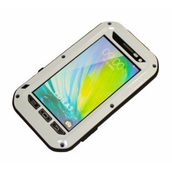 "Чехол PALMEXX для Samsung Galaxy A3 ""LUNATIK/LOVE MEI"" /белый/"