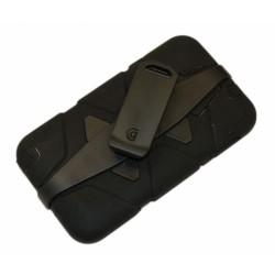 "Чехол для Samsung N9000 Note3 ""SURVIVOR"" /черный/"