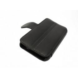 Кожаный чехол HTC Incredible S с пластиковым держателем
