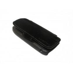 Кожаный чехол Nokia C7 с пластиковым держателем