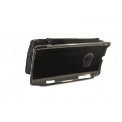 Кожаный чехол Nokia X7 с пластиковым держателем