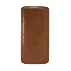 Кожаный чехол PALMEXX для Apple iphone 6 флип /коричневый/