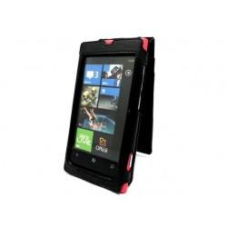 Кожаный чехол Nokia Lumia 800
