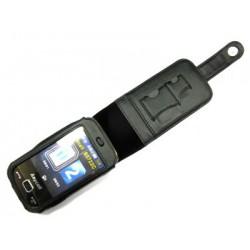 Кожаный чехол Samsung B5722 Duos