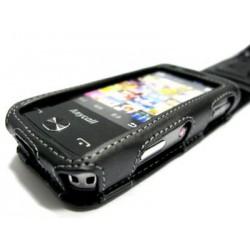 Кожаный чехол Samsung M8910