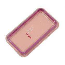 Бампер для Apple iPhone 4S /сиреневый/