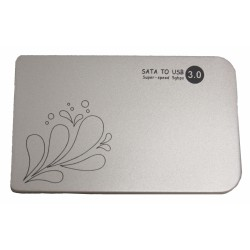 """HDD Case 2.5"""" USB3.0 /серебряный/"""