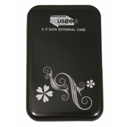 "HDD Case 2.5"" USB3.0 (до 2Tb) /черный/"