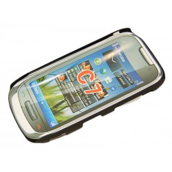 Чехол HARD CASE для Nokia C7 /черный/