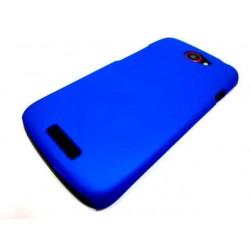 Чехол HARD CASE для HTC One X /синий/