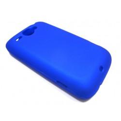 Чехол HARD CASE HTC Wildfire /синий/