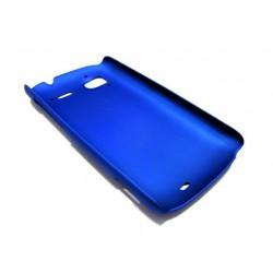 Чехол HARD CASE для HTC Wildfire S /синий/