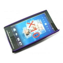 Чехол HARD CASE для Sony-Ericsson Xperia X10 /синий/